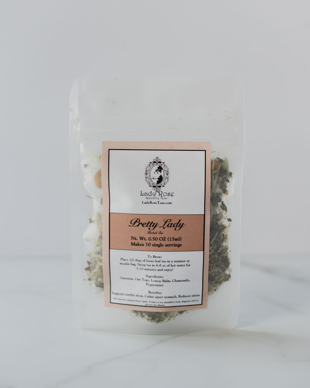 Pretty Lady Herbal Tea (0.5 oz) *Best Seller