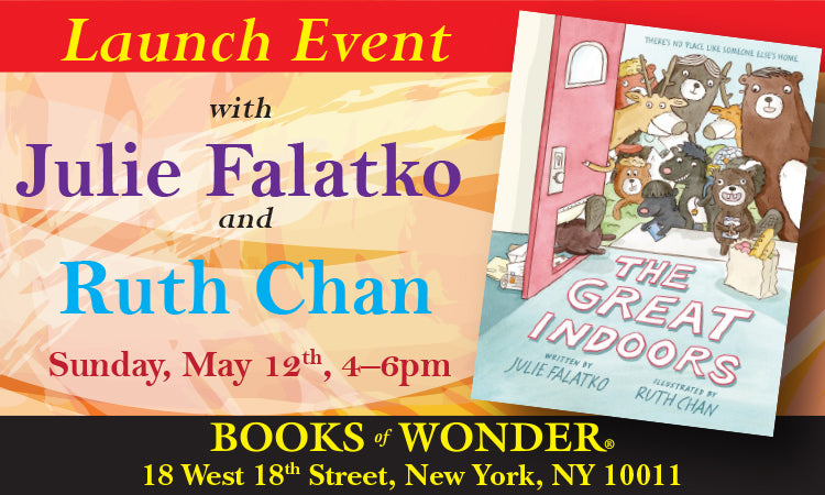 LAUNCH EVENT for The Great Indoors by RUTH CHAN and JULIE FALATKO