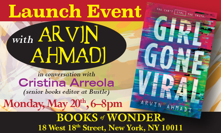 LAUNCH EVENT for Girl Gone Viral by ARVIN AHMADI in conversation with CRISTINA ARREOLA
