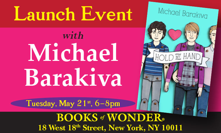 LAUNCH PARTY for Hold My Hand by MICHAEL BARAKIVA