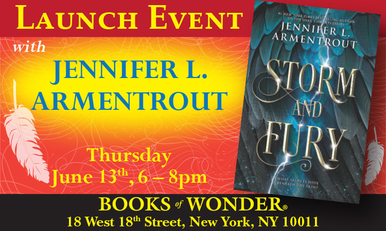 LAUNCH EVENT for Storm and Fury by JENNIFER L. ARMENTROUT