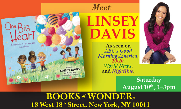 LAUNCH PARTY for One Big Heart: A Celebration of Being More Alike Than Different by LINSEY DAVIS