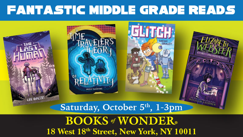 Fantastic Middle Grade Reads - Oct. 5th