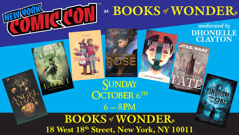 New York Comic Con at Books of Wonder