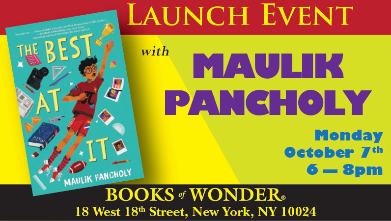 Launch Event for The Best at It by Maulik Pancholy