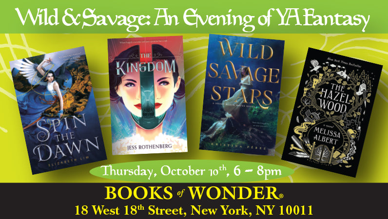 Wild & Savage: An Evening of YA Fantasy
