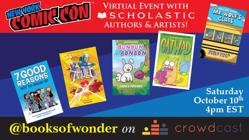 New York Comicon Event with Scholastic Authors & Artists