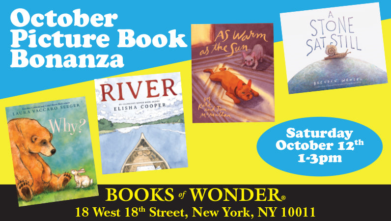 October Picture Book Bonanza