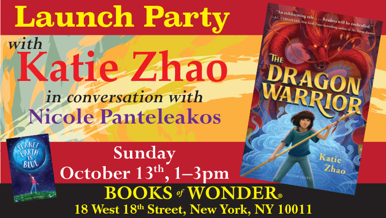 Launch Party for The Dragon Warrior by Katie Zhao