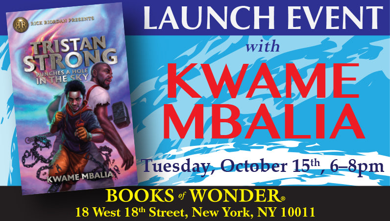 Launch Event for Tristan Strong Punches a Hole in the Sky by Kwame Mbalia