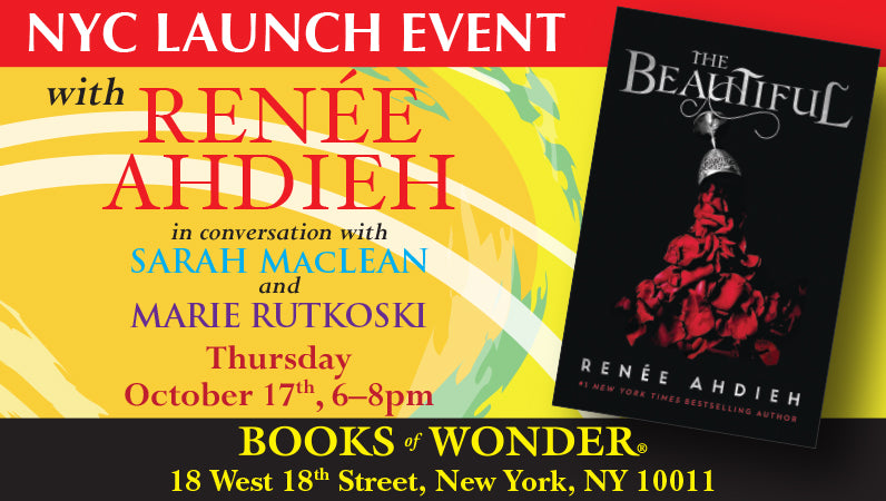 NYC Launch Event with Renée Ahdieh