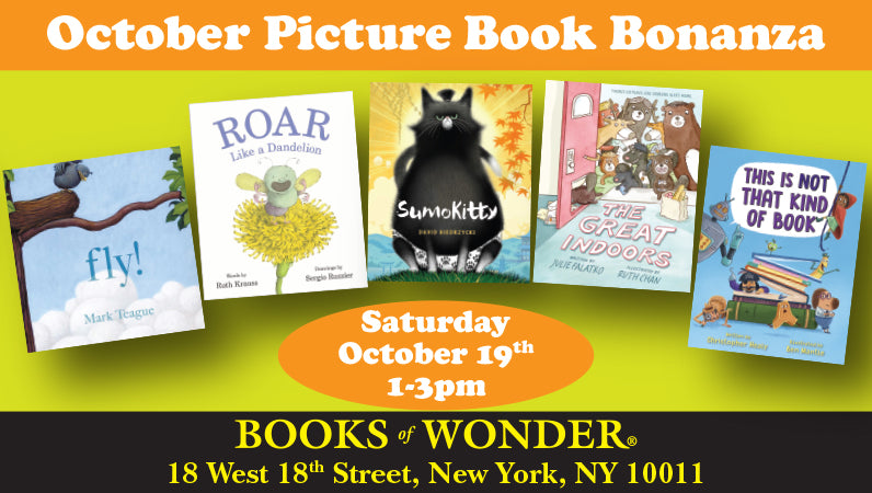 October Picture Book Bonanza, Part II