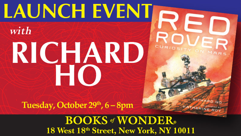 Launch Event for Red Rover by Richard Ho