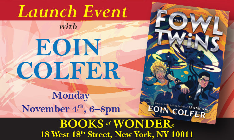 Launch Event for The Fowl Twins with Eoin Colfer