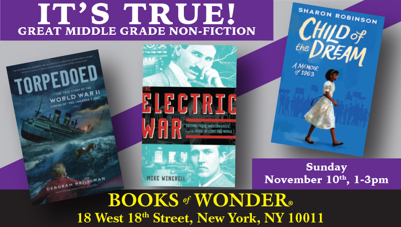 It's All True! Great Middle Grade Nonfiction