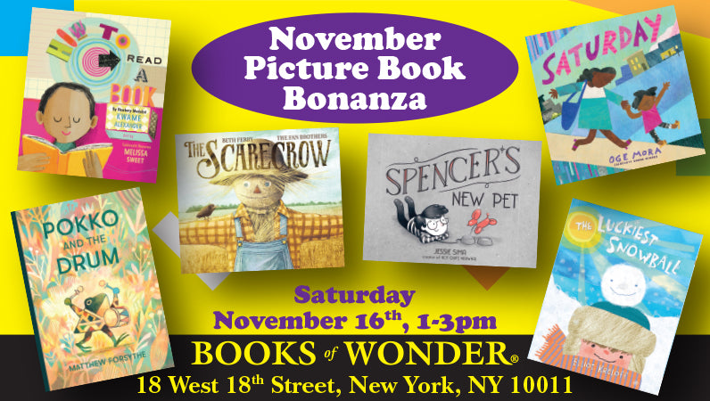 November Picture Book Bonanza