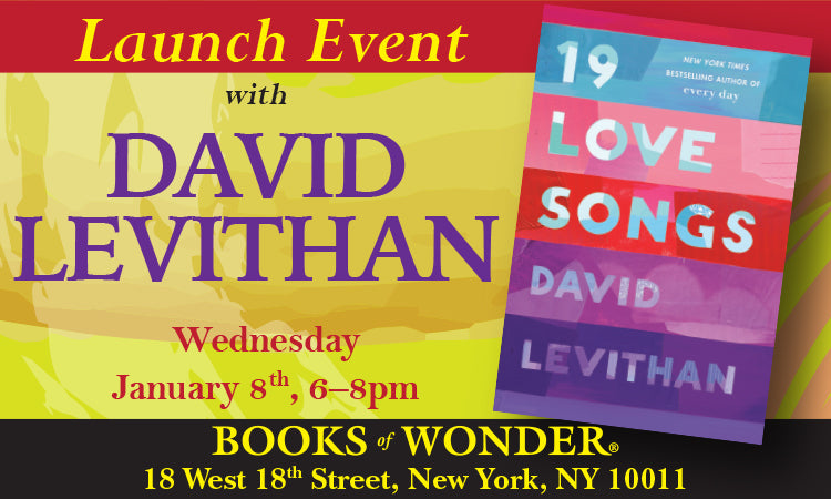 Launch Event for 19 Loves Songs by David Levithan