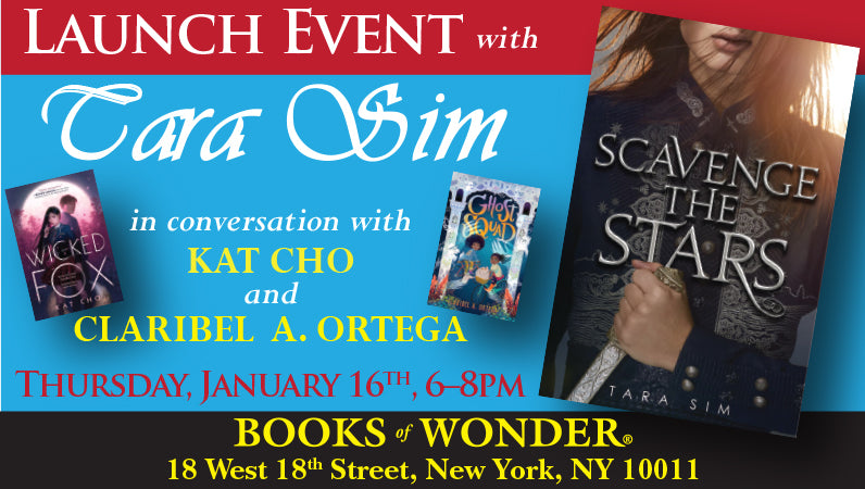 Launch Event for Scavenge the Stars by Tara Sim