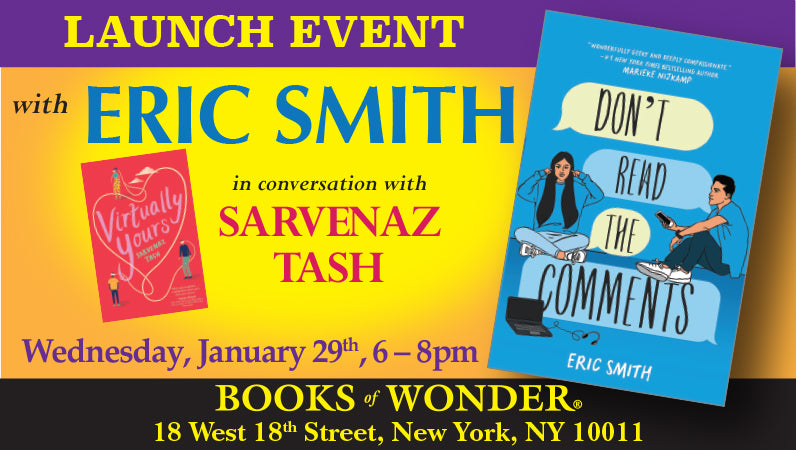 Launch Event for Don't Read the Comments by Eric Smith