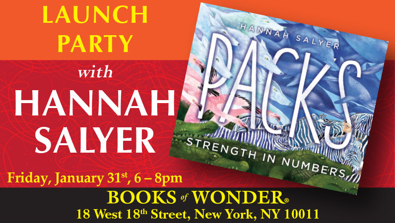Launch Party for Packs: Strength in Numbers by Hannah Salyer