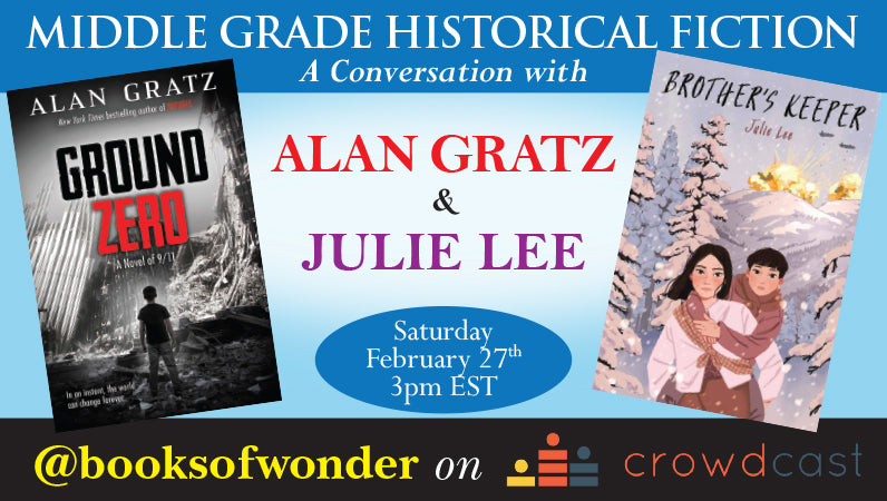 Middle Grade Historical Fiction: A Conversation With Alan Gratz & Julie Lee