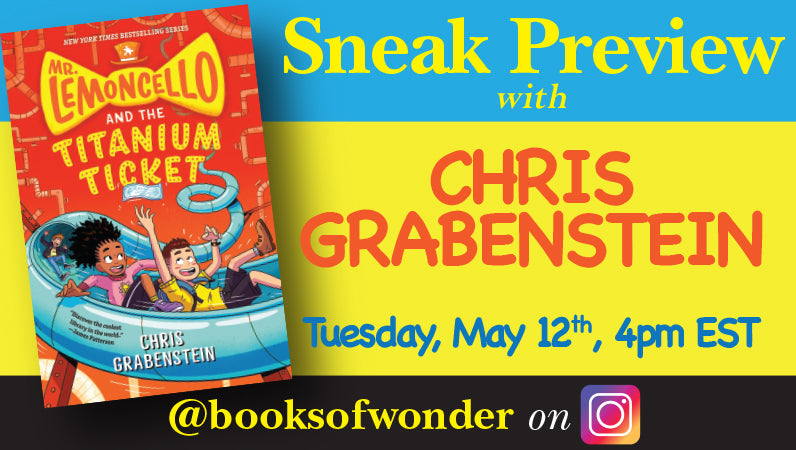 Sneak Preview with Chris Grabenstein