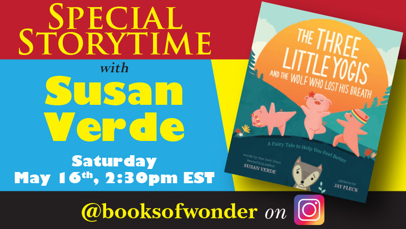 Storytime with Susan Verde and Three Little Yogis