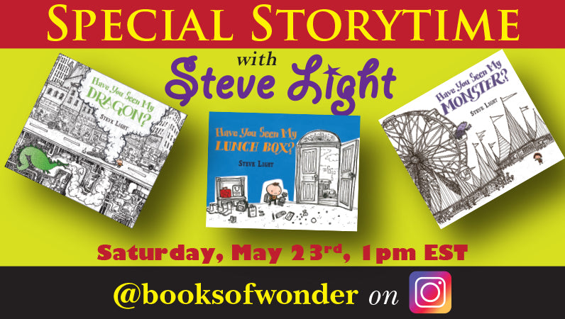 Storytime with Steve Light
