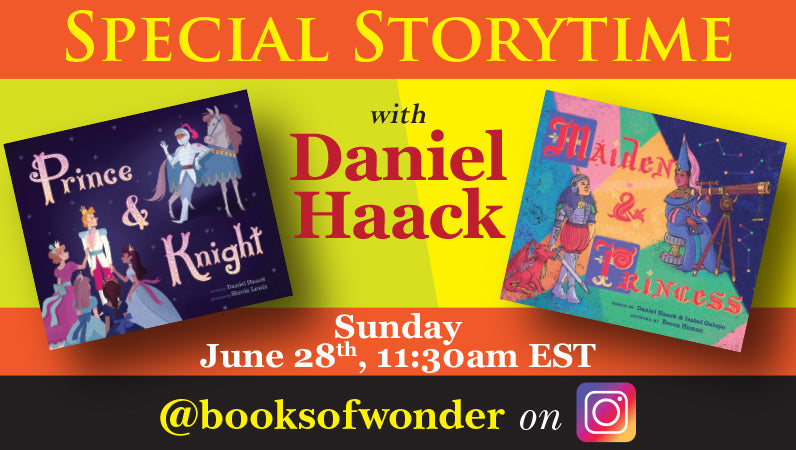 Special Storytime with Daniel Haack