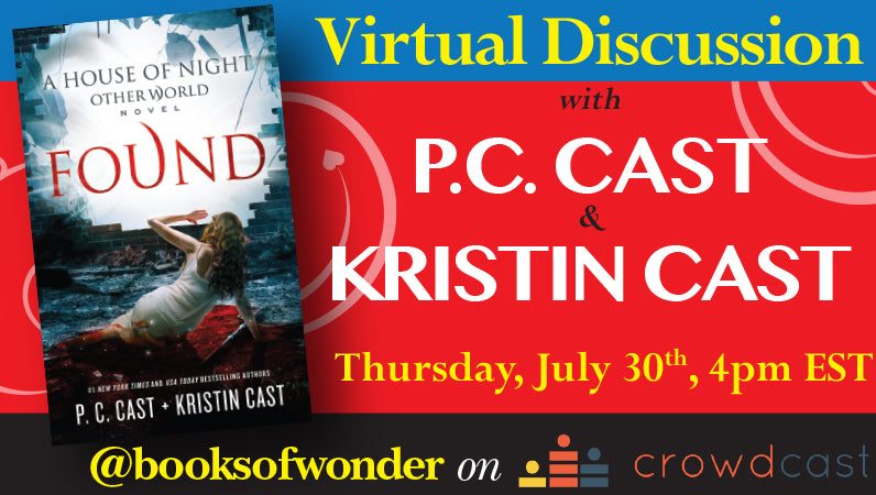 Virtual Discussion with PC Cast & Kristin Cast for Found
