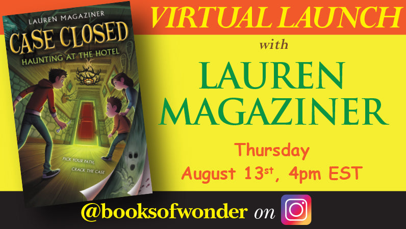 Virtual Launch for Haunting at the Hotel by Lauren Magaziner