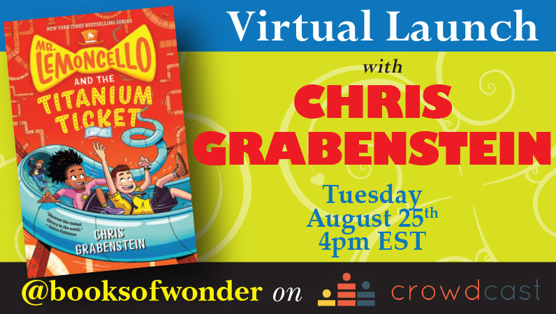 Launch Event for Mr. Lemoncello and the Titanium Ticket by CHRIS GRABENSTEIN