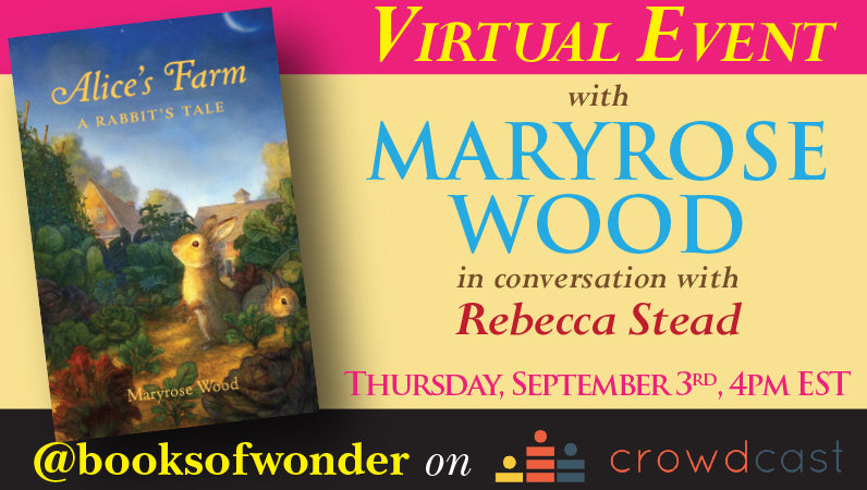 Launch Event for Alice's Farm: A Rabbit's Tale by Maryrose Wood