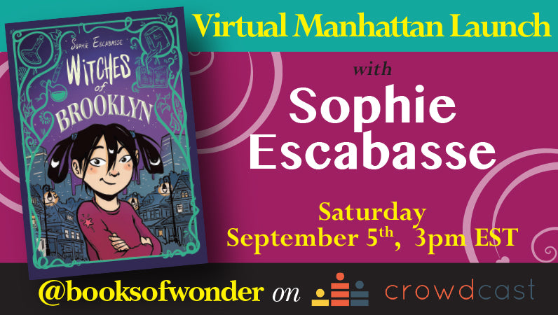 Manhattan Launch for Witches of Brooklyn by Sophie Escabasse