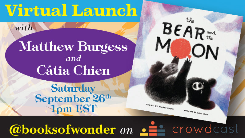 Launch event for The Bear and the Moon by Matthew Burgess & Catia Chien