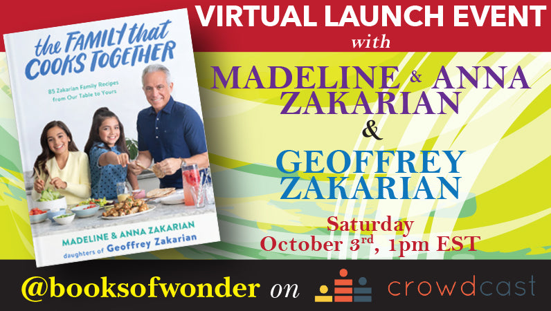 Launch Event for The Family That Cooks Together by Madeline & Anna Zakarian