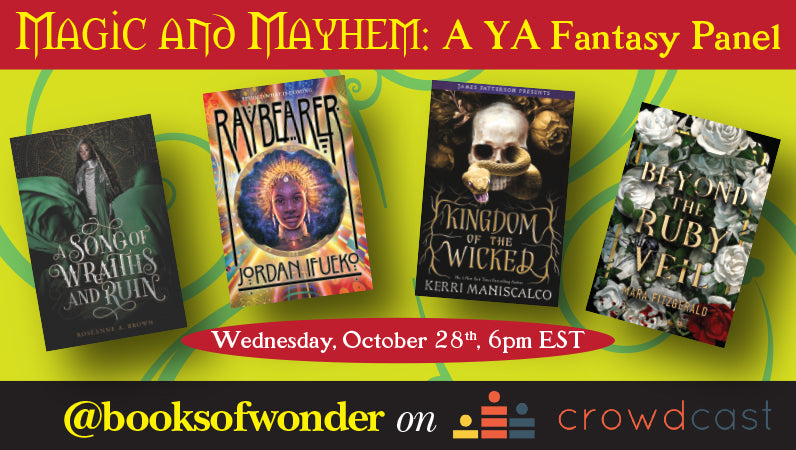 Magic and Mayhem: A YA Fantasy Panel
