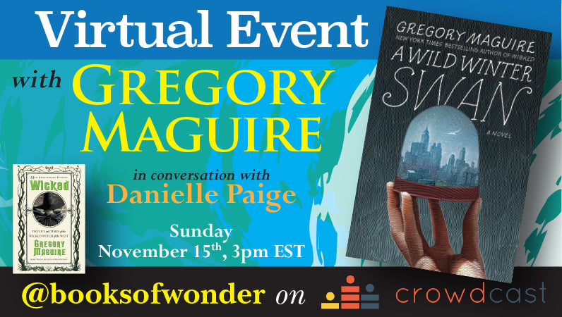 Launch Event for A Wild Winter Swan by Gregory Maguire