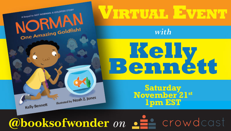 Event for Norman: One Amazing Goldfish by KELLY BENNETT