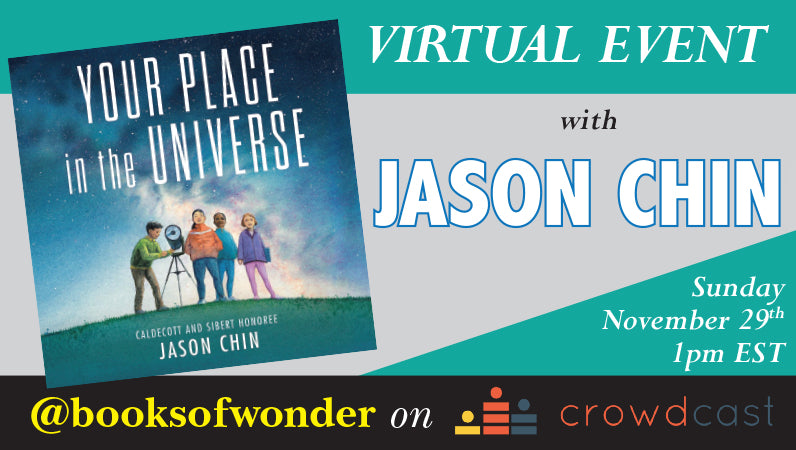 Event for Your Place in the Universe by Jason Chin