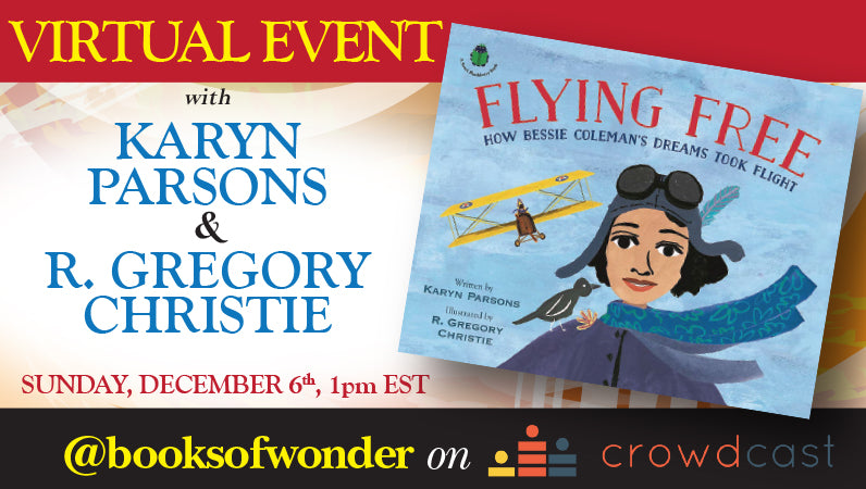 Event for Flying Free by Karyn Parsons