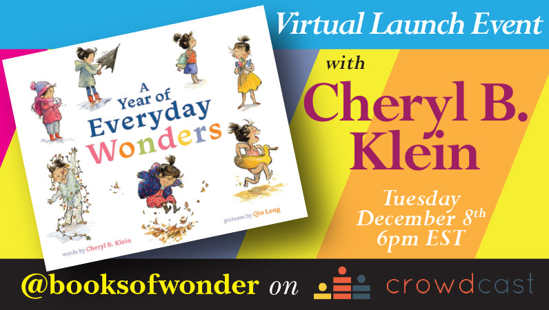 Launch Event for A Year of Everyday Wonders by Cheryl B. Klein