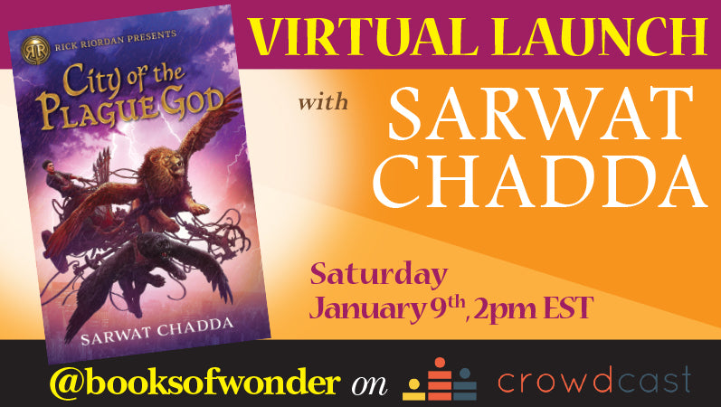 Launch Event for City of the Plague God by Sarwat Chadda
