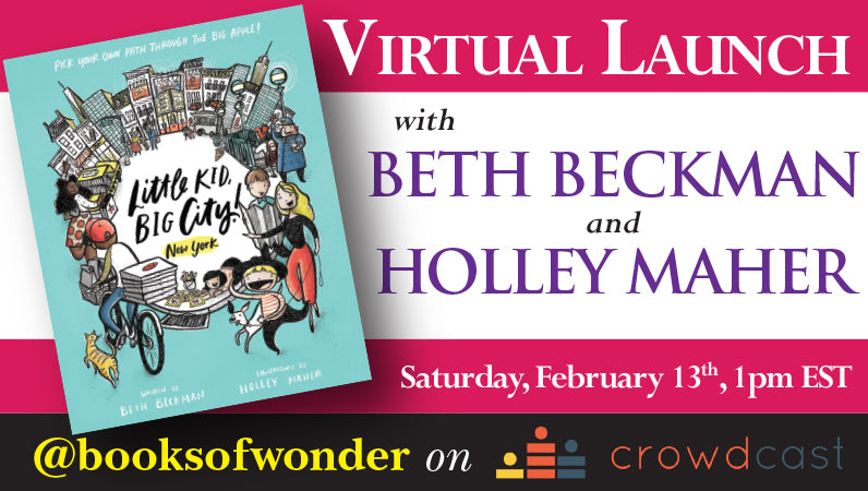 Launch Event For Little Kid, Big City! New York By Beth Beckman