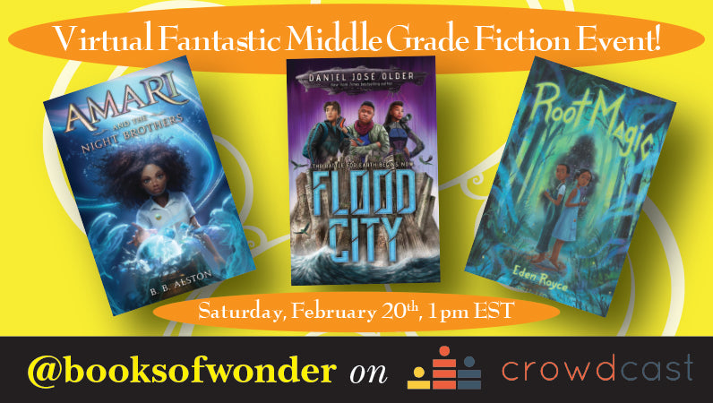 Fantastic Middle Grade Fiction Event