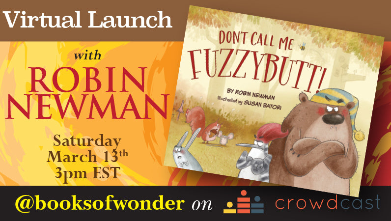 Launch Event For Don't Call Me Fuzzybutt! By Robin Newman