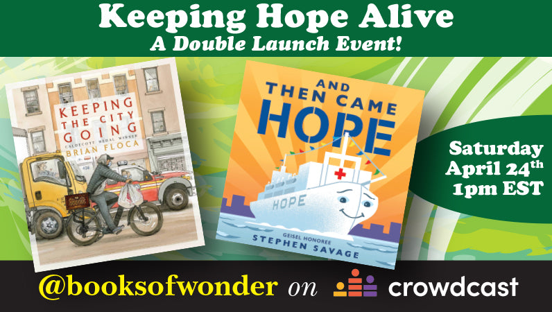 Keeping Hope Alive- A Double Launch Event!