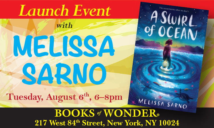 LAUNCH PARTY for A Swirl of Ocean by MELISSA SARNO