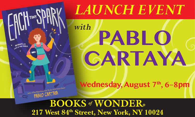 LAUNCH EVENT for Each Tiny Spark by PABLO CARTAYA