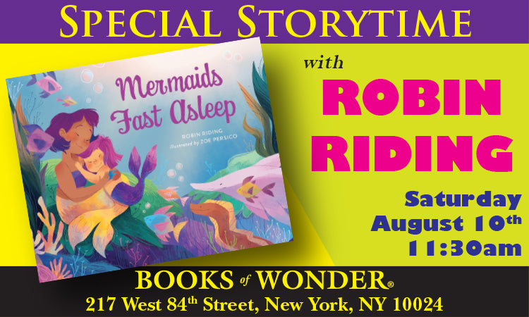 Special Storytime Author ROBIN RIDING for Mermaids Fast Asleep